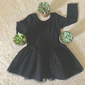 Baby Girls Little Black Tutu Dress